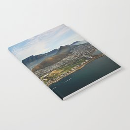 Cape Town aerial view II Notebook