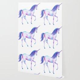 Watercolor Unicorn 2 Wallpaper