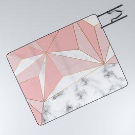 Marble & Geometry 042 Picnic Blanket