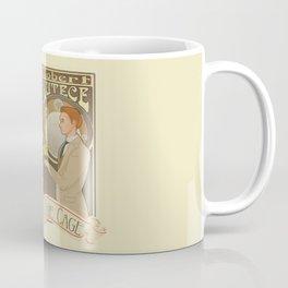 Lutece Twins Nouveau Coffee Mug