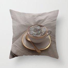 Cappuccino for anyone? Throw Pillow