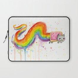 Rainbow Cat in Pop Tart Laptop Sleeve
