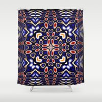 dance Shower Curtains featuring Dance by Dillie