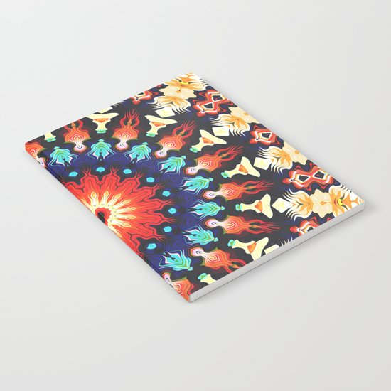 Colorful Mandala Motif Notebook