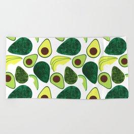 Avocados Beach Towel