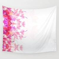 Soft butterfly Wall Tapestry