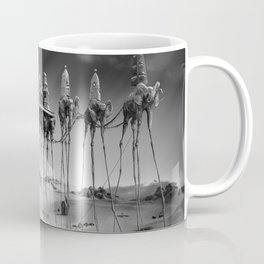 -Caravan Dali-   black and white Coffee Mug