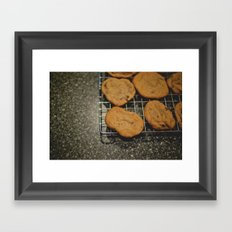 Chocolate Chip Cookies  Framed Art Print