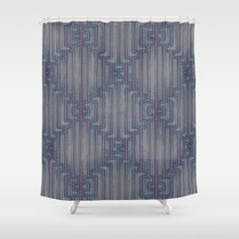 Denim Elect Shower Curtain