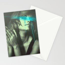 Untitled Woman Stationery Cards