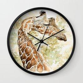 Africa02 Wall Clock