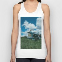ford Tank Tops featuring Ford Tractor by OctaviusEst