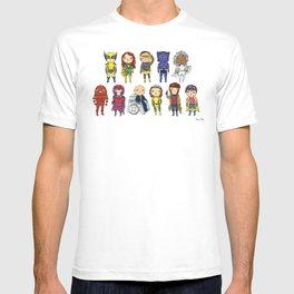 Super Cute Heroes: X-Men T-shirt