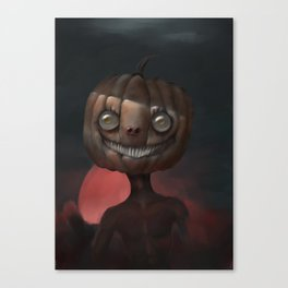 Scary Smile Canvas Print
