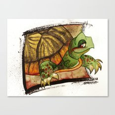Western Box Turtle Canvas Print