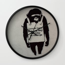 Banksy  Wall Clock
