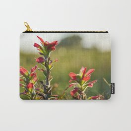 Oklahoma Wildflower Carry-All Pouch