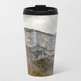 French Gorges in the winter Travel Mug