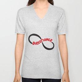 One Diection Directioner Forever Fan Logo Unisex V-Neck