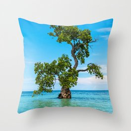 Tree Siquijor, Philippines Throw Pillow