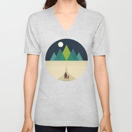 Long Journey Unisex V-Neck