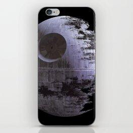 Black death iPhone Skin