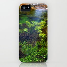 Giant Springs - Great Falls, Montana iPhone Case