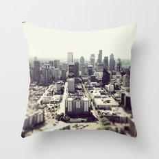 downtown seattle Throw Pillow
