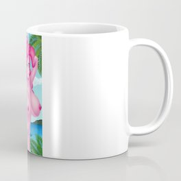 Beach Pinkie Coffee Mug