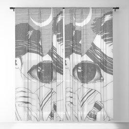Blind Lovers Sheer Curtain
