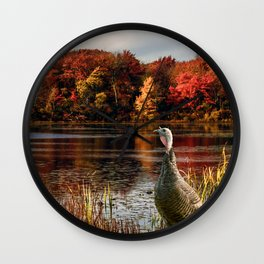Hammond Pond Wall Clock