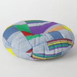 Mid-Century Modern Art - Rainbow Pride 1.0 Floor Pillow