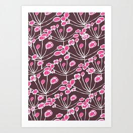Floral Sprigs Art Print
