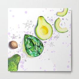 emerald and avocado naturemorte Metal Print