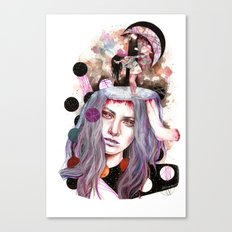 And Bring the Crazy Canvas Print
