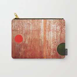 Metallic Face (Red Version) Carry-All Pouch