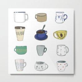 Coffee <3 Metal Print