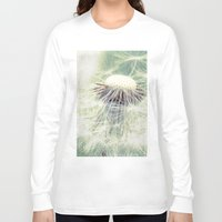 weed Long Sleeve T-shirts featuring a weed by Bonnie Jakobsen-Martin