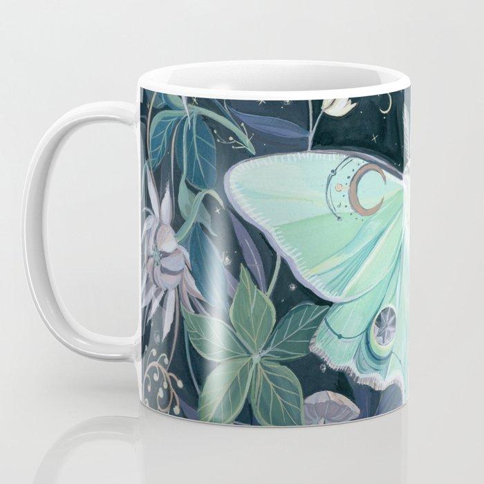 Luna Moth Kaffeebecher