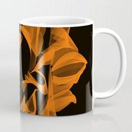 Fire sunflower Coffee Mug