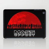 mass effect iPad Cases featuring Mass Effect by TxzDesign