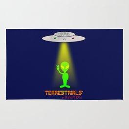 Terrestrials' friends - Aliens Rug