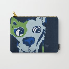 Anton - blue and lime Carry-All Pouch