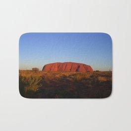 Uluru in the morning Bath Mat