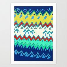 Rad Pattern Art Print
