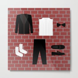 Off The Wall Icons Metal Print