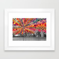 Blooming Toronto Framed Art Print