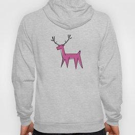 Pink deer  Hoody