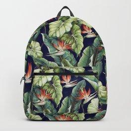 Night tropical garden II Backpack