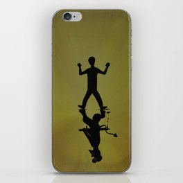 Overcome Your Evil iPhone Skin